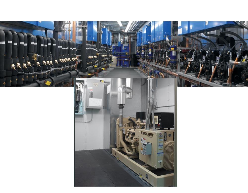 Mechanical Centers for Refrigeration