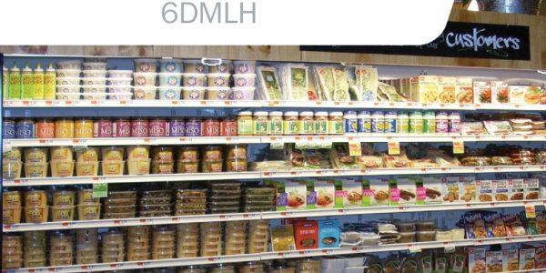 thumbnail of 6DMLH-NRG High Multi-Deck Display Case for Dairy, Deli, Beverage