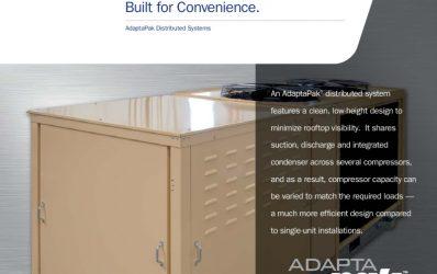 thumbnail of AdaptaPak-distributed-refrigeration-system-sales-sheet