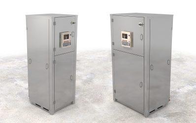 Hillphoenix Vertical InviroPak distributed indoor refrigeration system