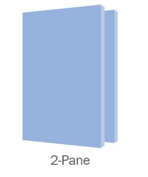 Clarity Display Case 2 Pane Door