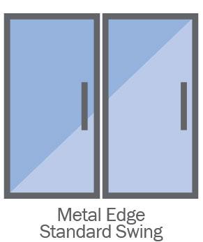 Clarity Display Case Standard Door