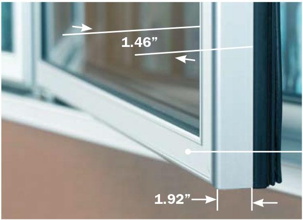Clarity Door ELM D Close Up