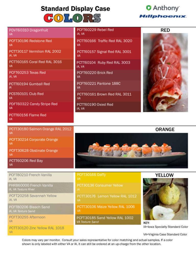 thumbnail of Hillphoenix-Standard-Color-Chart-display-case-MPV5-web