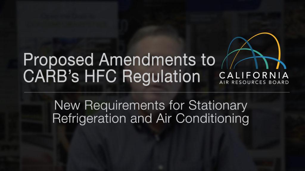 CARB New Regulations